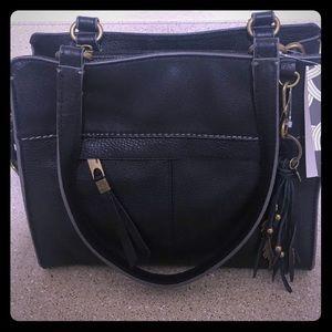 NWT: Black Sleek & Stylish SAK handbag